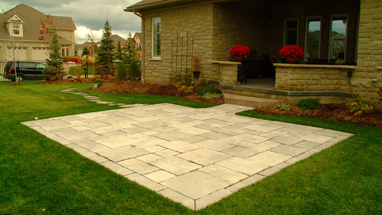 Patio Designs Patio Ideas | Artistic Landscaping Inc. Kitchener Waterloo Construction Company